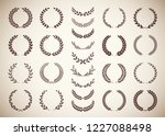 collection of twenty five... | Shutterstock .eps vector #1227088498
