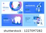 web page design templates... | Shutterstock .eps vector #1227097282