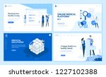 web page design templates... | Shutterstock .eps vector #1227102388