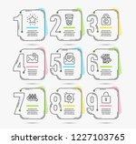 infographic timeline set of... | Shutterstock .eps vector #1227103765