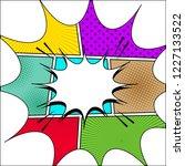 comic page book explosive... | Shutterstock .eps vector #1227133522