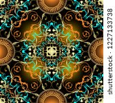 baroque ornamental vector... | Shutterstock .eps vector #1227133738