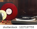 image of christmas. turntable... | Shutterstock . vector #1227137755