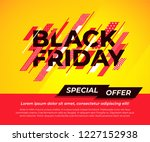black friday special offer....   Shutterstock .eps vector #1227152938