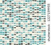 beautiful geometric pattern... | Shutterstock .eps vector #1227159955