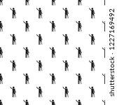 man prosthesis hand pattern... | Shutterstock .eps vector #1227169492