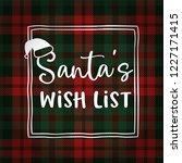 santas wish list. christmas...   Shutterstock .eps vector #1227171415