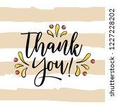 thanksgiving day. logo  text... | Shutterstock .eps vector #1227228202