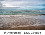 waves of the atlantic ocean... | Shutterstock . vector #1227234895