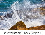 waves of the atlantic ocean... | Shutterstock . vector #1227234958