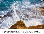 waves of the atlantic ocean... | Shutterstock . vector #1227234958
