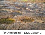 unusual background of stones ... | Shutterstock . vector #1227235042
