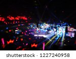 defocused entertainment concert ... | Shutterstock . vector #1227240958