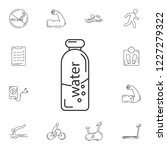 water bottle icon. simple...