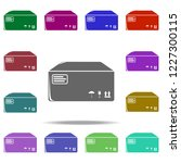 packing box icon. elements of... | Shutterstock .eps vector #1227300115