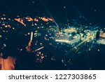 defocused entertainment concert ... | Shutterstock . vector #1227303865