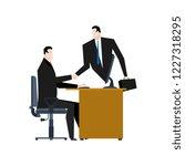 online business. web agreement. ... | Shutterstock . vector #1227318295