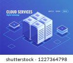 information center isometric... | Shutterstock .eps vector #1227364798