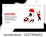 modern cartoon flat characters... | Shutterstock . vector #1227396652