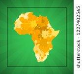 sketch blot dotty african...   Shutterstock .eps vector #1227402565
