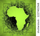 sketch blot dotty african...   Shutterstock .eps vector #1227402568