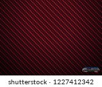 vector red carbon fiber volume... | Shutterstock .eps vector #1227412342