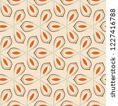 retro seamless pattern from the ... | Shutterstock .eps vector #1227416788
