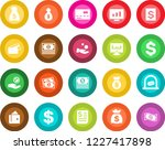 round color solid flat icon set ... | Shutterstock .eps vector #1227417898