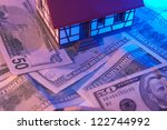 mini house model for real... | Shutterstock . vector #122744992
