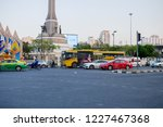victory monument bangkok... | Shutterstock . vector #1227467368