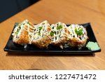 japanese fusion food   chashu... | Shutterstock . vector #1227471472