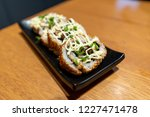 japanese fusion food   chashu... | Shutterstock . vector #1227471478