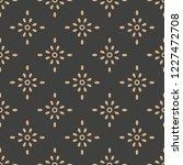 vector damask seamless retro...   Shutterstock .eps vector #1227472708