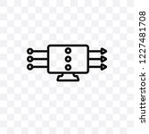 data streaming vector linear...   Shutterstock .eps vector #1227481708