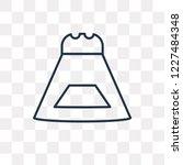 salt shaker vector outline icon ... | Shutterstock .eps vector #1227484348