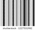 plaits and braids pattern... | Shutterstock .eps vector #1227531982