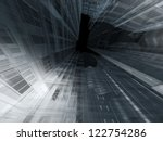 abstract architecture | Shutterstock . vector #122754286