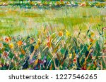 details of acrylic paintings... | Shutterstock . vector #1227546265
