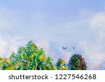 details of acrylic paintings... | Shutterstock . vector #1227546268