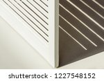 close up of wooden white room... | Shutterstock . vector #1227548152