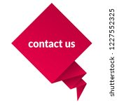 contact us sign label. contact... | Shutterstock .eps vector #1227552325