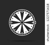 wheel of fortune  icon. vector...   Shutterstock .eps vector #1227571618