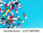 assortment of pharmaceutical... | Shutterstock . vector #1227589582