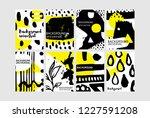 set of creative universal... | Shutterstock .eps vector #1227591208