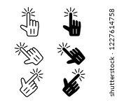 cursor icon  vector  pointer   Shutterstock .eps vector #1227614758