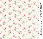 seamless vector ornamental... | Shutterstock .eps vector #1227614872
