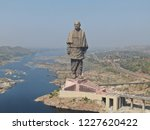 Statue Of Unity Aerial View...
