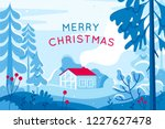 vector illustration in trendy... | Shutterstock .eps vector #1227627478