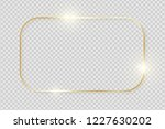 gold shiny glowing vintage... | Shutterstock .eps vector #1227630202