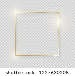 gold shiny glowing vintage... | Shutterstock .eps vector #1227630208
